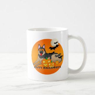 German Shepherd Dog Halloween Mugs