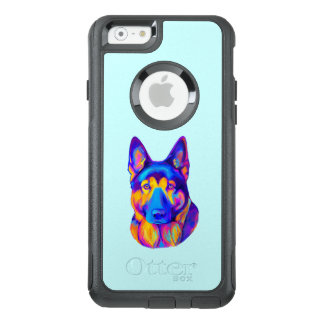 German Shepherd Dog in Colors OtterBox iPhone 6/6s Case