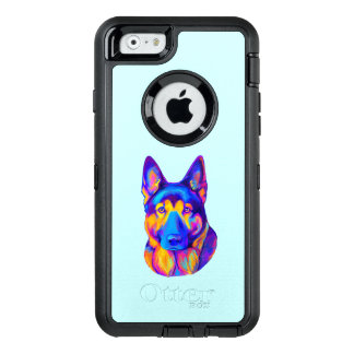 German Shepherd Dog in Colors OtterBox iPhone 6/6s Case