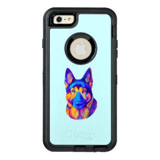 German Shepherd Dog in Colors OtterBox iPhone 6/6s Plus Case
