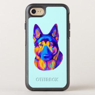 German Shepherd Dog in Colors OtterBox Symmetry iPhone 7 Case