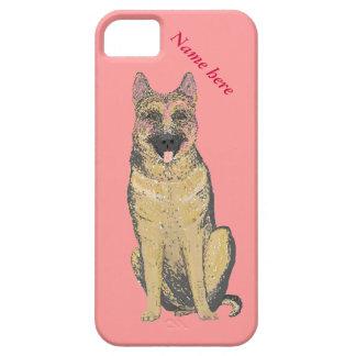 German Shepherd dog iPhone cases add name iPhone 5 Case