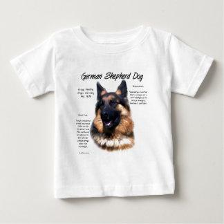 German Shepherd Dog (longhair) History Design Baby T-Shirt