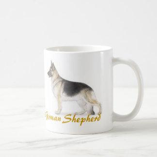 German Shepherd, Dog Lover Galore! Basic White Mug