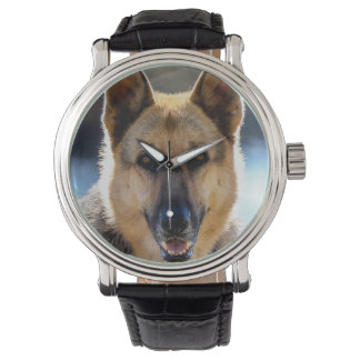 German Shepherd Dog Lover's Wrist Watch