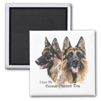 German Shepherd Dog Magnet