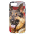 German shepherd Dog Patriot Red Blue White iPhone 8/7 Case