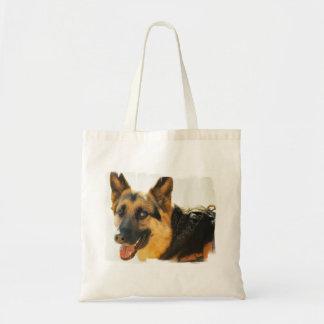 German Shepherd Dog Photo Small Canvas Bag