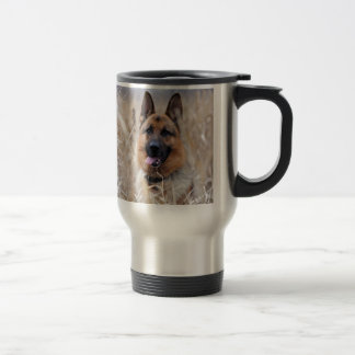 German Shepherd Dog Stainless Steel Travel Mug