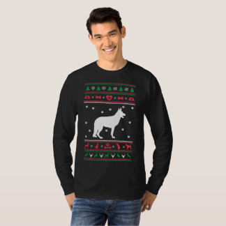 German Shepherd Dog Ugly Sweater Christmas