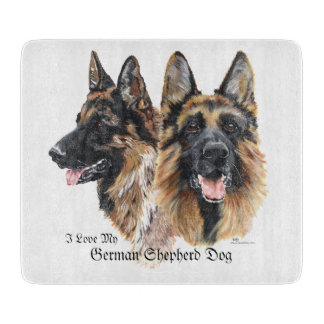German Shepherd Dogs Cutting Board