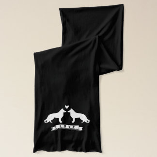 German Shepherd Dogs Love Scarf
