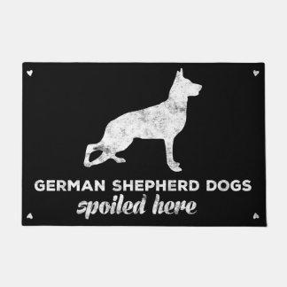 German Shepherd Dogs Spoiled Here Doormat