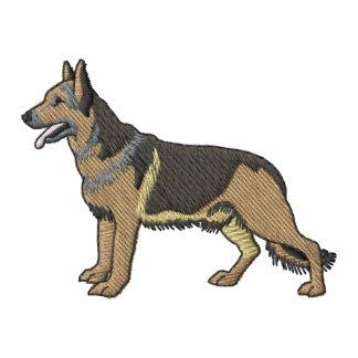 German Shepherd Embroidered Polo Shirt