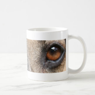German Shepherd Eyes mug