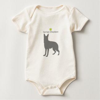 German Shepherd g5 Baby Bodysuit