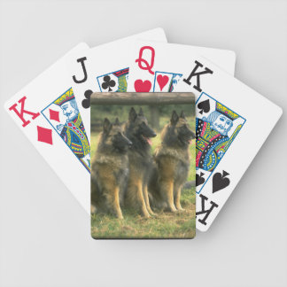 German Shepherd Gifts Bicycle Playing Cards