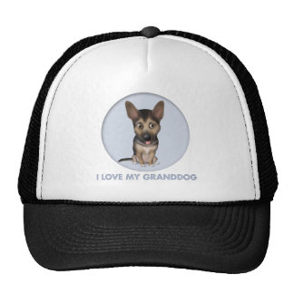 German Shepherd Granddog Mesh Hats