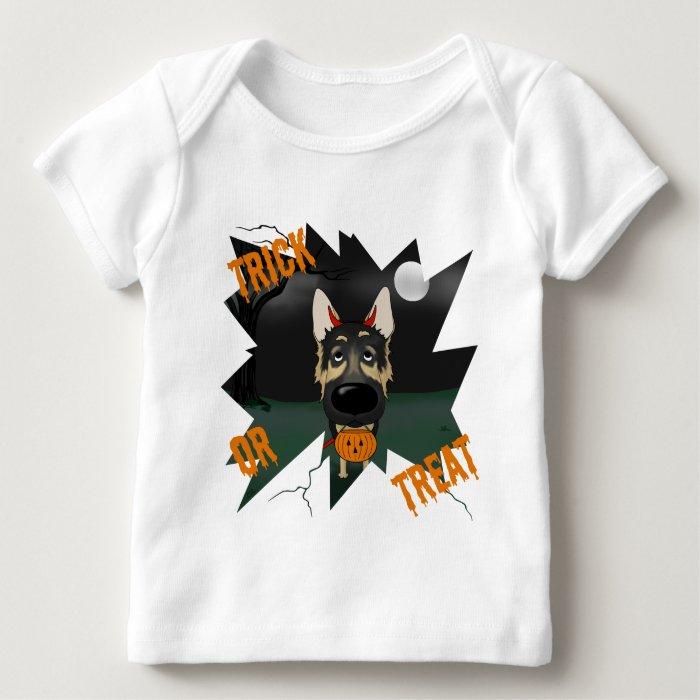 German Shepherd Halloween Baby T-Shirt