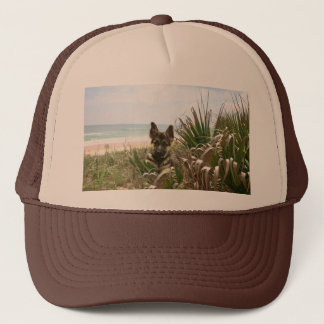 German Shepherd Hat Beachgrass