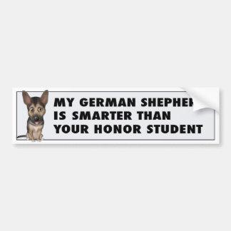 German Shepherd Honor GS1 Bumper Sticker