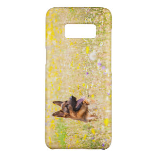German Shepherd in Spring flowers for Galaxy S8 Case-Mate Samsung Galaxy S8 Case
