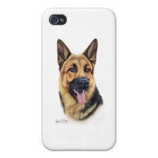 German Shepherd iPhone 4/4S Cases