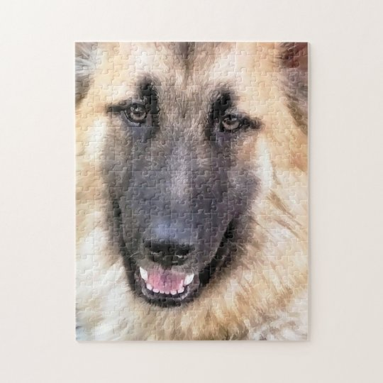 GERMAN SHEPHERD JIGSAW PUZZLE