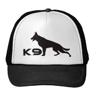 German Shepherd K9 Black Mesh Hat