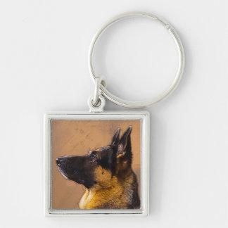 German Shepherd Key Chain