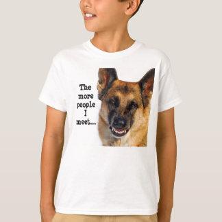German Shepherd Kid's T-Shirt