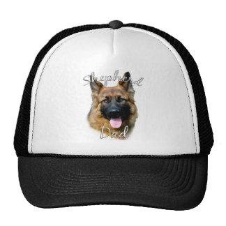 German Shepherd longhair Dad 2 Trucker Hat