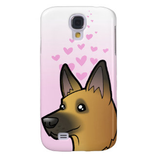 German Shepherd Love Galaxy S4 Case