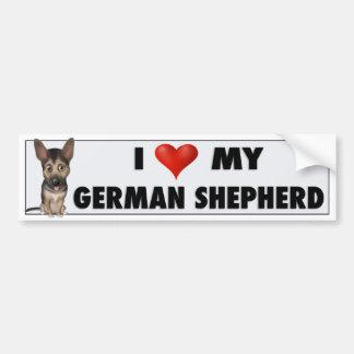 German Shepherd Love GS1 Bumper Sticker