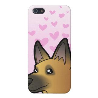 German Shepherd Love iPhone 5/5S Cover