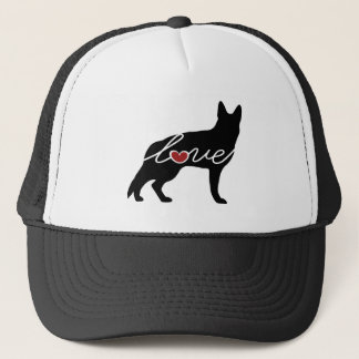 German Shepherd Love Trucker Hat