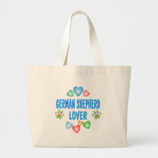 GERMAN SHEPHERD LOVER JUMBO TOTE BAG