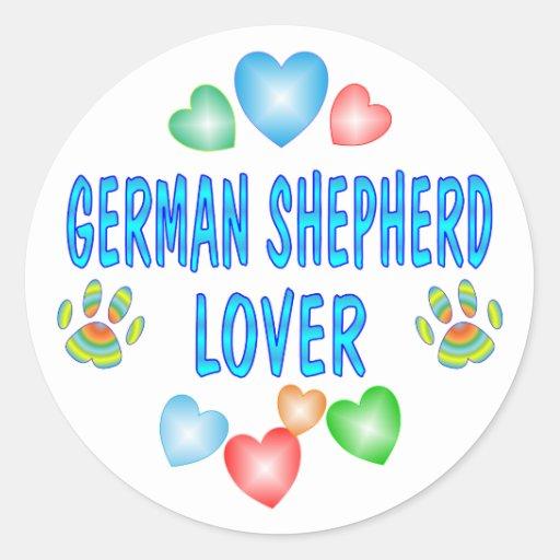 GERMAN SHEPHERD LOVER STICKERS
