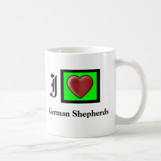 """German Shepherd Lovers Coffee Mug"" Basic White Mug"