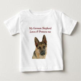 German Shepherd Lover's Delight Baby T-Shirt