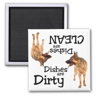 German Shepherd Lovers Dishwasher Magnet