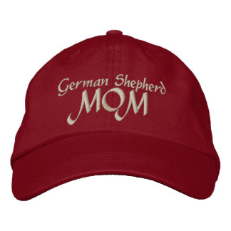German Shepherd Mom Gifts Embroidered Hat