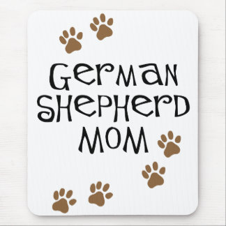 German Shepherd Mom Mouse Mat