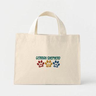 GERMAN SHEPHERD Mom Paw Print 1 Mini Tote Bag