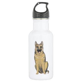 German Shepherd on a Liberty drinks bottle 532 Ml Water Bottle