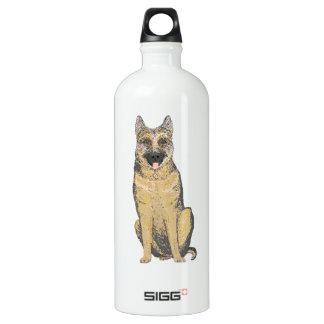 German Shepherd on a Liberty drinks bottle SIGG Traveller 1.0L Water Bottle
