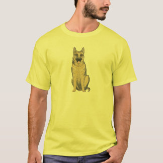 German Shepherd on t shirt and other Products