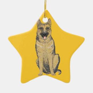 German Shepherd Ornaments customize