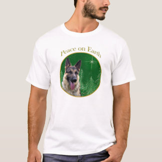 German Shepherd Peace T-Shirt