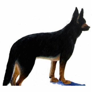 German Shepherd Photo Sculpture